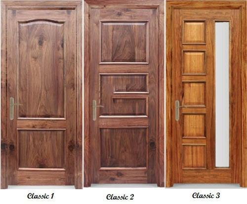 cửa gỗ solitek classic huge