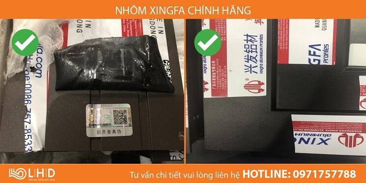cua nhom xingfa chinh hang lhdgroup va hang nhom xingfa gia nhai kem chat luong (3)