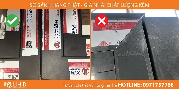 cua nhom xingfa chinh hang lhdgroup va hang nhom xingfa gia nhai kem chat luong (9)